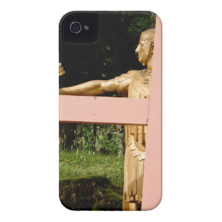 Jesus with cross Case-Mate iPhone 4 cases