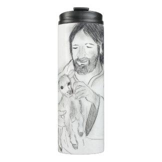 Jesus With Lamb Thermal Tumbler