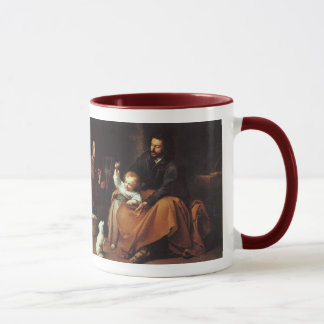 Jesus with Sparrow - Murillo, ...The Word was... Mug