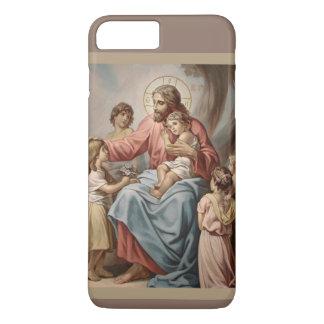 Jesus with the Children Boys Girls iPhone 7 Plus Case