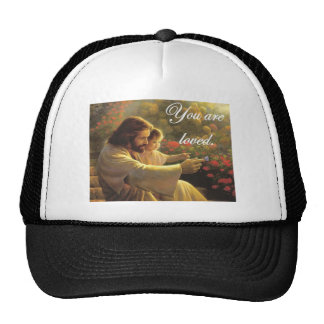Jesus- You Are Loved Trucker Hats