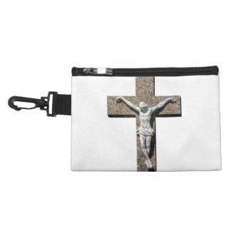 Jesuschrist on a Cross Sculpture Accessory Bag