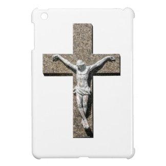 Jesuschrist on a Cross Sculpture iPad Mini Cover