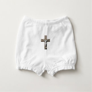 Jesuschrist on a Cross Sculpture Nappy Cover