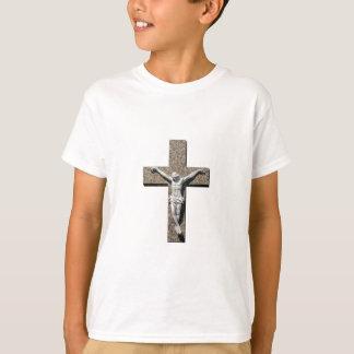 Jesuschrist on a Cross Sculpture T-Shirt