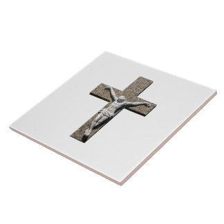 Jesuschrist on a Cross Sculpture Tile