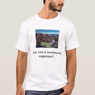 JesusPreachingMultitudes, Jesus wa... - Customized T-Shirt