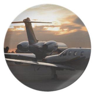 Jet Aircraft Plate