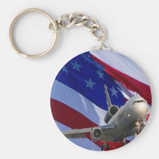 jet airliner keychain