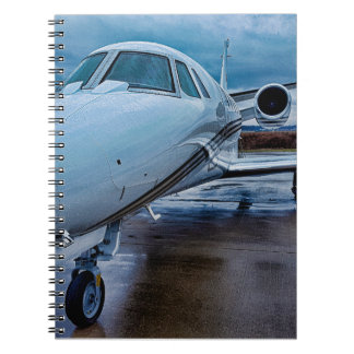 Jet Airplane Notebook