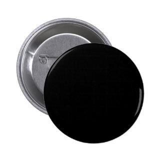 Jet Black Design - customise with text, photo, pic 6 Cm Round Badge