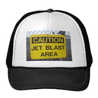 Jet Blast Area Trucker Hats