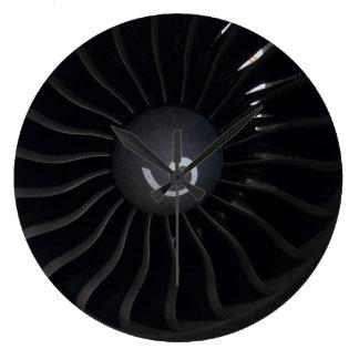 Jet Engine Wall Clock