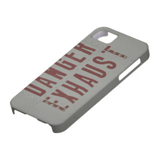 Jet Fighter aircraft fuselage (Danger Exhaust) iPhone 5 Case
