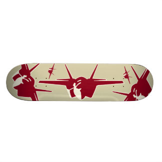 Jet fighter 20 cm skateboard deck
