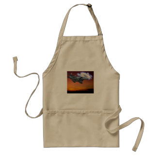 Jet Fighter Sunset Standard Apron