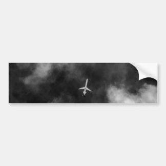 Jet High In The Sky Bumper Stickers