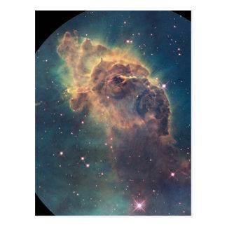 Jet in Carina nebula (NGC 3372) Postcard