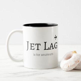 jet lag is for amateurs 325 ml  Mug