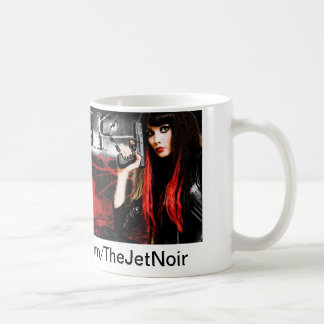 Jet Noir Coffee Mug