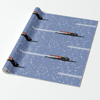 JET PACK GIRL by Jetpackcorps Wrapping Paper