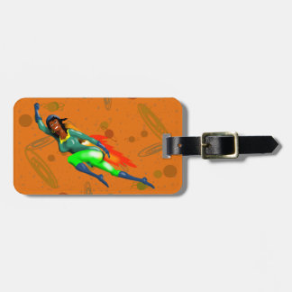 JET PACK WOMAN by Jetpackcorps Luggage Tag