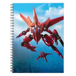 jet robot notebook