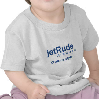 Jet Rude - Quit in style Tee Shirt
