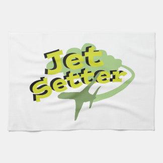 Jet Setter Hand Towels