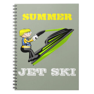 Jet ski fan notebooks