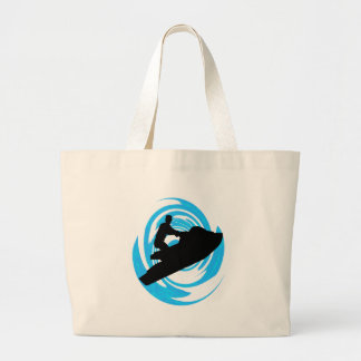 JET SKI ME LARGE TOTE BAG