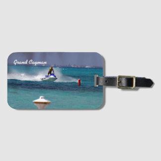 Jet Ski Paradise Cayman Island. Luggage Tag