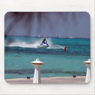 Jet Ski Paradise Mouse Pad