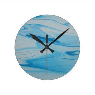 Jet Stream Round Clock