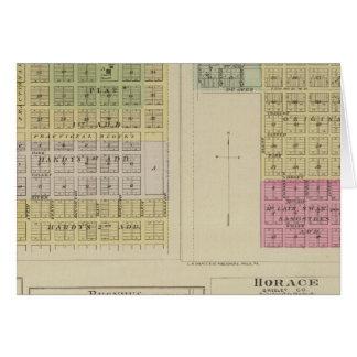 Jetmore, Scott City, Hanston, Bucyrus, Kansas Card