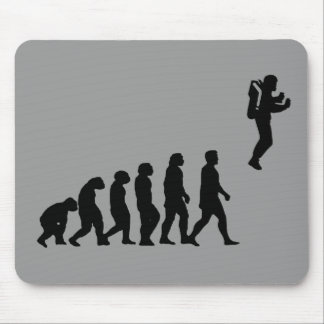 Jetpack Evolution mouse pad