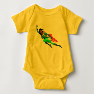 JETPACK ROKET GIRL by Jetpackcorps Baby Bodysuit
