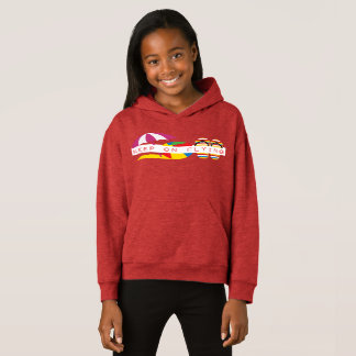 Jetset Licorice > Girls Hoodie - Beach Icons
