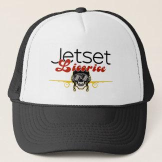 Jetset Licorice > Trucker Hat - Skull Pilot