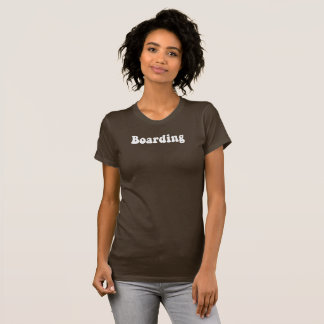 Jetset Licorice > Womens T-Shirt < Boarding