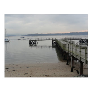 Jetty on Poole Harbour Postcard