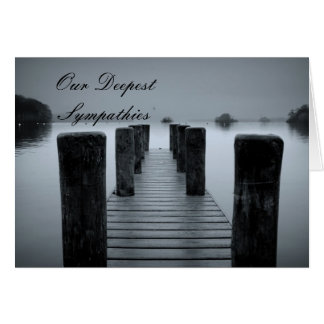 Jetty Our Deepest Sympathies Card