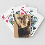 Jeu de cartes femme asiatique