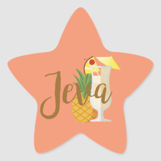 Jeva Star Sticker