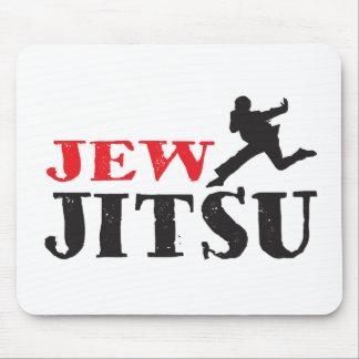 Jew Jitsu - Funny Jewish humor Mousepad