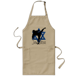 Jew Jitsu Long Apron