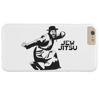 Jew Jitsu Martial Arts | Jewish Bar Mitzvah Gifts Barely There iPhone 6 Plus Case