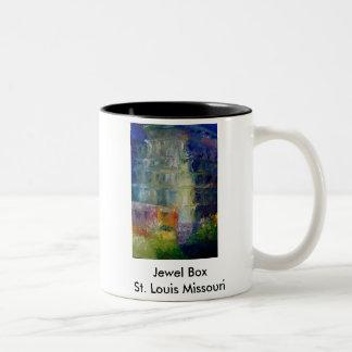 Jewel Box, Jewel Box St. Louis Missouri Two-Tone Coffee Mug