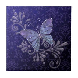 Jewel Butterfly Ceramic Tile