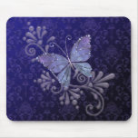 Jewel Butterfly Mouse Pad